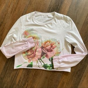 Taylor Swift Small Floral Crop Top Lover Merch